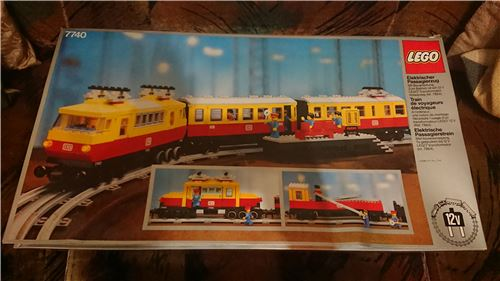 Inter-City Passenger Train, Lego 7740, PeterM, Train, Johannesburg, Image 3