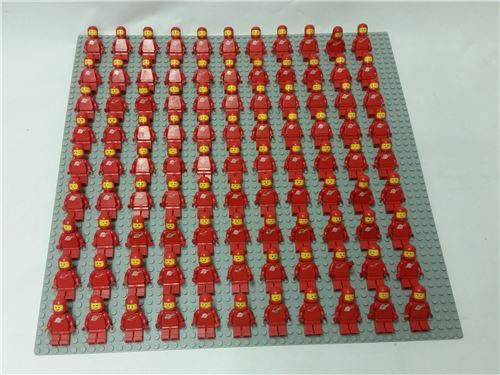 Vintage Space Set - 99 Minifigures, red, Lego, Spiele-Truhe Vintage (Spiele-Truhe Vintage), Space, Hamburg, Abbildung 2