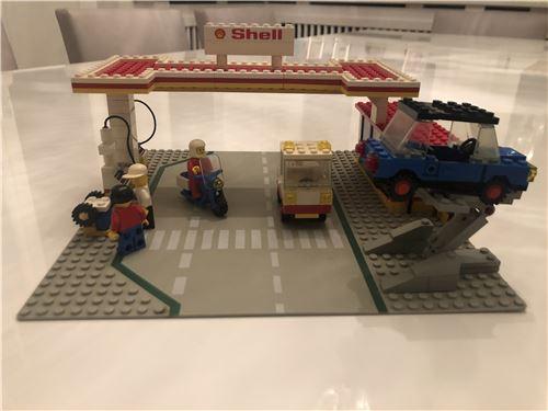 lego shell tankstelle service station lego 6371 lego. Black Bedroom Furniture Sets. Home Design Ideas