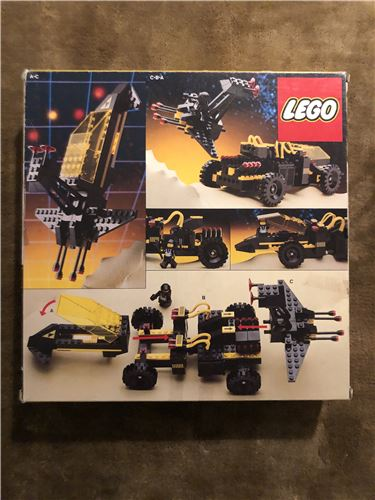 LEGO SPACE Blacktron Battrax from 1987, Lego 6941, Spaceman, Space, Birmingham, Image 3