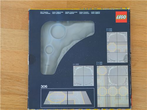 Lego Space classic: 305 Crater Plate, with BOX, Lego 305, Jochen, Space, Radolfzell, Image 6
