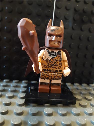 Clan of the Cave Batman minifigure The LEGO Batman Movie Series 1 Complete 71017, Lego 71017-4, NiksBriks, Minifigures, Skipton, UK