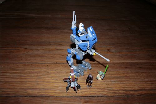 LEGO 75002 - Star Wars Clone Wars - AT-RT Walker with 3 Minifigs from 2013, Lego 75002, Forestman, Star Wars, Hamburg