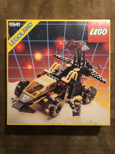 LEGO SPACE Blacktron Battrax from 1987, Lego 6941, Spaceman, Space, Birmingham, Image 2