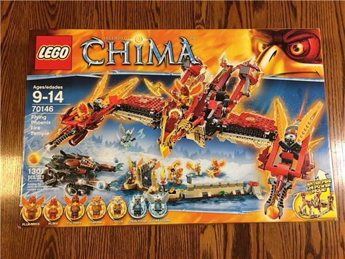 Flying Phoenix Fire Temple, Lego 70146, Christos Varosis, Legends of Chima, Serres