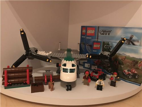 Lego City Airport Cargo 60021, Lego 60021, Mark Deege, City, Hamburg