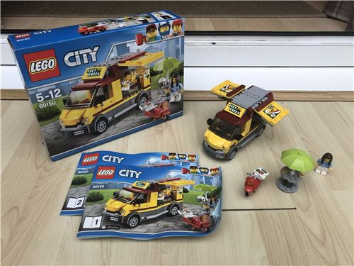 ᐅ Mibmisb Set Lego 60150 Pizza Van Complete Set From