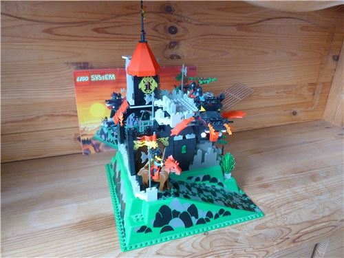 Fire Breathing Fortress, Lego 6082, Alex, Castle, Dortmund, Image 2