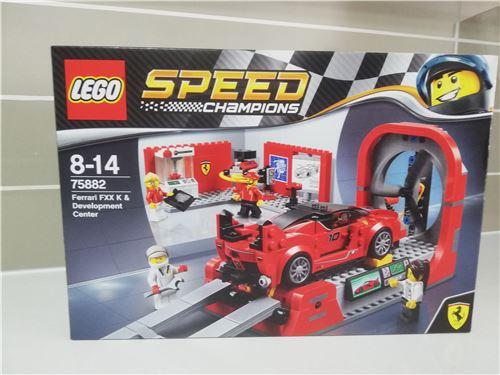 LEGO 75882 Speed Champions Ferrari FXX K /& Development Center