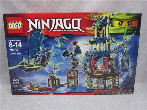 Lego 70732 NINJAGO Masters of Spinjitzu CITY OF STIIX NIB