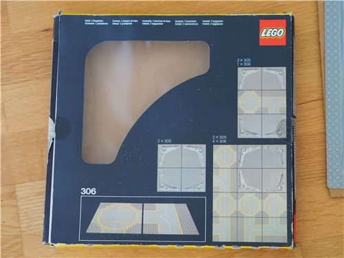 Lego Space classic: 305 Crater Plate, with BOX, Lego 305, Jochen, Space, Radolfzell, Image 5