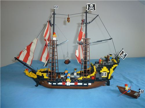 Black Seas Barracuda, Lego 6285, Alex, Pirates, Dortmund, Abbildung 2