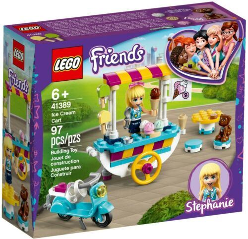 Ice Cream Cart, Lego 41389, Christos Varosis, Friends, Serres