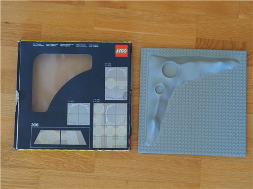 Lego Space classic: 305 Crater Plate, with BOX, Lego 305, Jochen, Space, Radolfzell, Image 2