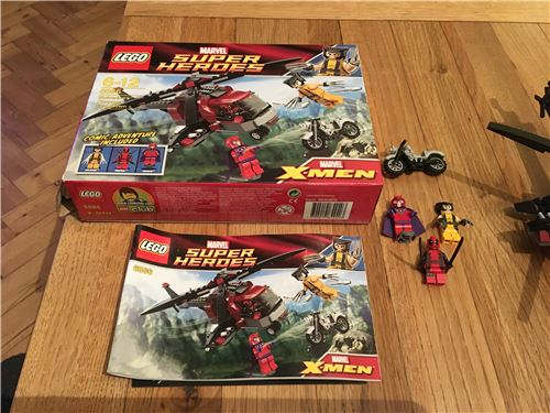 Wolverines Chopper Showdown, Lego 6866, James, Marvel Super Heroes, Image 3