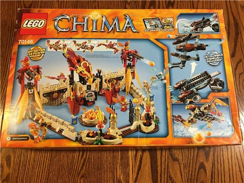 Flying Phoenix Fire Temple, Lego 70146, Christos Varosis, Legends of Chima, Serres, Image 2
