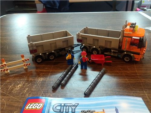 Lego 4434 tippet truck, Lego 4434, Mike, City, Providence