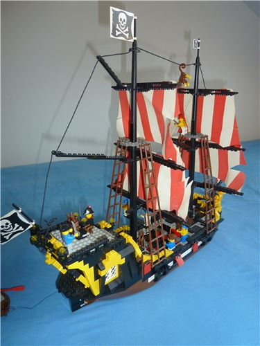 Black Seas Barracuda, Lego 6285, Alex, Pirates, Dortmund, Abbildung 3