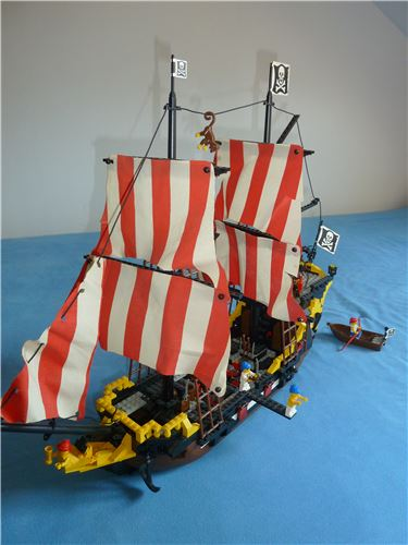 Black Seas Barracuda, Lego 6285, Alex, Pirates, Dortmund, Abbildung 4