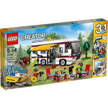 Vacation Getaways, Lego 31052, Ernst, Creator