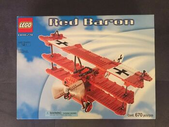 2002 Red Baron, Lego 10024, Christos Varosis, Sculptures