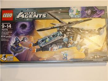 Lego 70170 UltraCopter vs. AntiMatter, Lego 70170, Brickworldqc, Agents