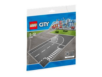 T-junction & Curve, LEGO 7281, spiele-truhe (spiele-truhe), City, Hamburg