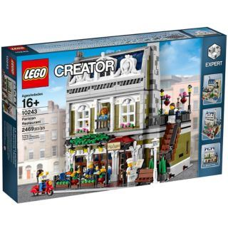 Parisian Restaurant, Lego 10243, Gohare, Modular Buildings, Tonbridge
