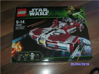 STAR WARS - Jedi - Defenderclass Cruiser , Lego 75025, Roberto , Star Wars