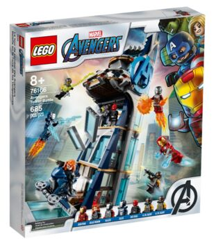 76166 - Marvel Avengers Tower Battle, Lego 76166 , Rakesh Mithal, Marvel Super Heroes, Fourways