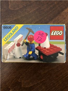 Road Repair set, Lego 6606, Rebecca, Town, Sugar Land