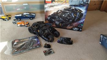 The Tumbler + Bonus Micro Tumbler, Lego 76023+303000, Willy, Super Heroes, Purleigh