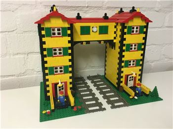 Custom House - Train Signal Box / Lego bricks, Spiele-Truhe Vintage (Spiele-Truhe Vintage), other, Hamburg