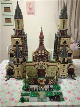 Massive Harry Potter Castle, Lego, Creations4you, Harry Potter, Worcester