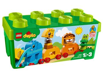 My First Animal Brick Box, LEGO 10863, spiele-truhe (spiele-truhe), DUPLO, Hamburg