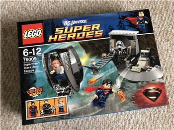 Superman: Black Zero Escape, Lego 76009, Steven Bond, Super Heroes, St. Helens