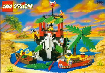 Forbidden Cove, Lego 6264, Creations4you, Pirates, Worcester