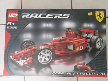 Used Ferrari F1 Racer 1:10 Scale, Lego 8386, Tracey Nel, Racers, Edenvale