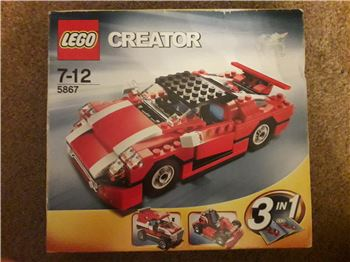 Creator Super Speedster 3 in 1*UNOPENED* RETIRED, Lego 5867, OtterBricks, Creator, Pontypridd