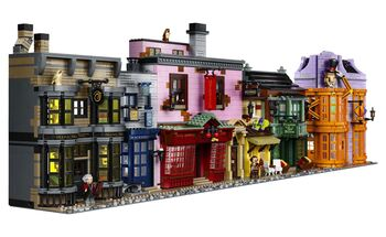 Harry Potter Diagon Alley, Lego 75978, Creations4you, Harry Potter, Worcester