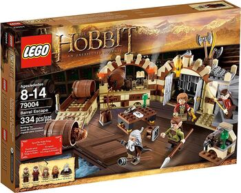 The Hobbit Barrel Escape, Lego, Creations4you, Lord of the Rings, Worcester
