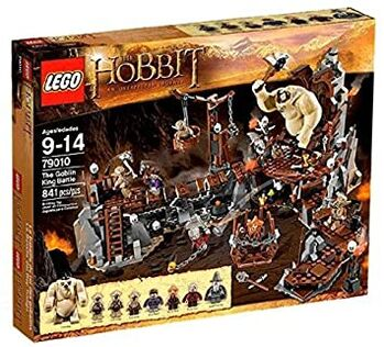 The Hobbit The Goblin King, Lego, Creations4you, Lord of the Rings, Worcester