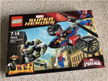 Spider-Helicopter Rescue, Lego 76016, Steven Bond, Marvel Super Heroes, St. Helens