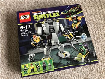 Baxter Robot Rampage, Lego 79105, Steven Bond, Teenage Mutant Ninja Turtles, St. Helens