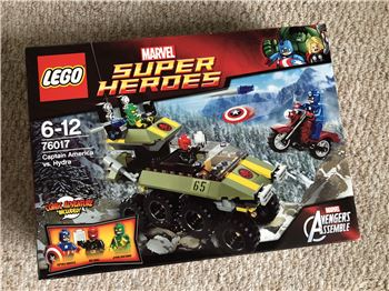 Captain America vs Hydra, Lego 76017, Steven Bond, Marvel Super Heroes, St. Helens