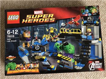 Hulk Lab Smash, Lego 76018, Steven Bond, Marvel Super Heroes, St. Helens