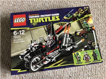 Shredder's Dragon Bike, Lego 79101, Steven Bond, Teenage Mutant Ninja Turtles, St. Helens