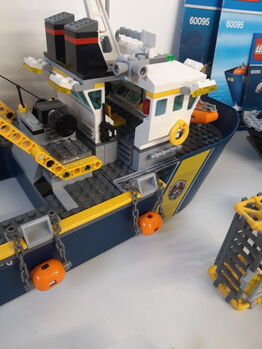 LEGO City Deep Sea Exploration Vessel (60095) 100% Complete retired, Lego 60095, NiksBriks, Town, Skipton, UK