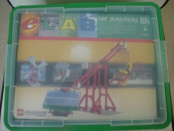 Lego eLab Renewable Energy Set II, Lego 9684, Neil Lyons, other, Ware
