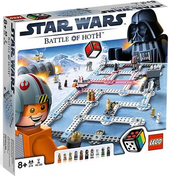 LEGO Star Wars 3866 - Battle of Hoth, Lego 3866, Günther, Star Wars, Anger